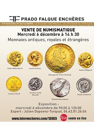 VENTE - Prado Falque Enchères - Marseille
