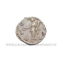 Denier frappé à Rome vers 180 - 182