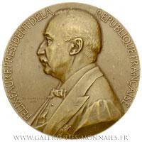 Médaille Félix FAURE Président 1895 (1897), par CHAPLAIN