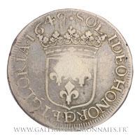 Écu d'argent, 1649
