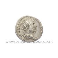 Denier frappé à Rome entre 134 et 138