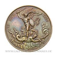 Médaille Naissance du Comte de Chambord 29 septembre 1820, par GAYRARD