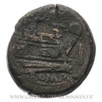 As frappé à Rome vers 189-188 av. J.-C.