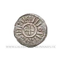 Denier frappé à Pavie (Italie) après 840