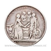 Médaille, Mariage du Dauphin et de Marie-Antoinette d'Autriche 1770 par LORTHIOR