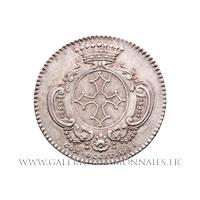 Jeton argent États de Languedoc 1778