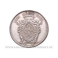 Jeton argent États de Languedoc 1783