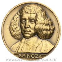 Médaille du tricentenaire de la naissance de Spinoza par P. Turin
