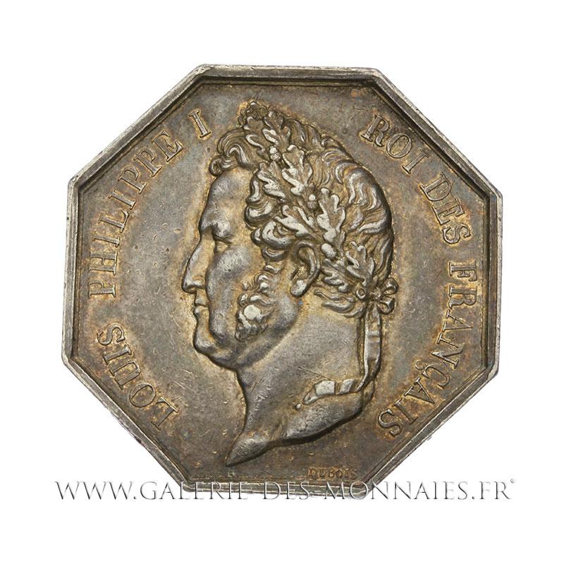 Louis philippe ier 1830 1848 jeton octogonal chambre de commerce de marseille par dubois non - Chambre des commerce marseille ...