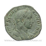 Sesterce frappé à Rome, en 230