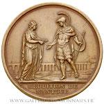 Médaille, Reddition de Mantoue, le 2 février 1797, par LAVY