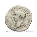 Cistophore de Claude et Agrippine frappé à Éphèse en 51