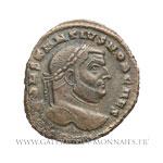 Follis frappé à Carthage entre 299 et 303