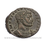 Follis frappé à Trèves vers 298-299 ap. J.-C.