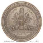 Médaille de député au conseil des Cinq-cents, 2ème session, AN VI par Gatteaux