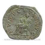Sesterce frappé à Rome vers 250.