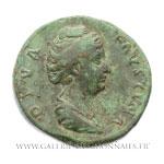 Sesterce frappé à Rome après 141