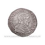 Teston du Dauphiné au nom d'Henri II, 1561 Z Grenoble (Rose)