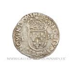 Quart d'écu, au nom d'Henri III, 1590 K Bordeaux
