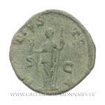 Sesterce frappé à Rome, en 227