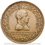 Médaille, Général Desaix mort à la bataille de Marengo An 8, par AUGUSTE