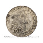 Demi-Écu aux 8 L, 1er type, 1692 E Tours