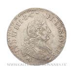 Demi-écu aux 8 L, 2e type, 1704 9 Rennes