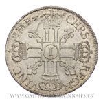 Écu aux 8 L, 1er type, 1690 I Limoges
