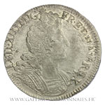 Écu aux insignes, 1702 G Poitiers