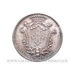 Jeton argent États de Languedoc 1781