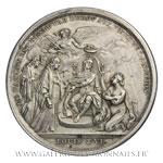 Médaille, le Parlement de Toulouse rétabli en1775 par Duvivier