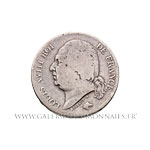 2 FRANCS Louis XVIII 1824 D Lyon
