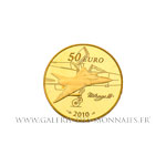 50 EURO OR Marcel DASSAULT 2010 BE