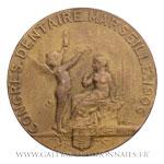 Médaille Concours dentaire de Marseille 1906, par Martin