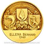 Médaille de la Compagnie Alais Froges et Camargue PECHINEZ 1949,  par CROUZAT