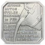 Médaille, Exposition des Arts  et techniques de Paris 1937 par P-A. MORLON