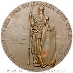 Médaille Rallye automobile Méditerrannée Le Cap 1951 par Delamarre