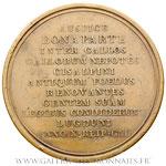 Médaille constitution de la République Cisalpine à Lyon An X (1802), par MERCIER