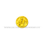 Médaille or, Sacre de Napoléon Ier AN XIII (1804), par JEUFFROY