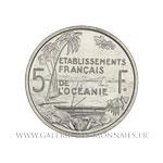Essai 5 Francs Union Française, 1952