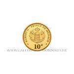 10 Euros or, Rainier III, 2005 BE