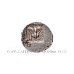 Drachme plinthophore au nom du magistrat Athanôdôros vers 188-170 av.J.-C.