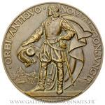 Médaille du Paquebot le Champlain 1932, par DELAMARRE