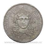 Piéfort 5 Francs, essai 3ème concours de Gayrard, 1848