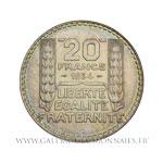 20 FRANCS Turin, 1934