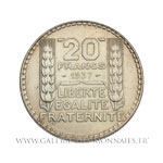20 FRANCS Turin, 1937