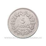 5 FRANCS Lavrillier en nickel 1938