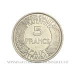 Essai 5 Francs, concours de Delannoy 1933