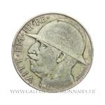 20 LIRE 10ème anniversaire de la fin de la première guerre mondiale, 1928 R Rome