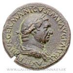 Sesterce frappé à Rome en 69 ap. J.-C.